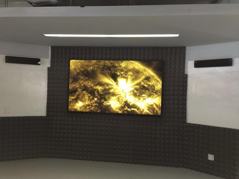 "98"" UHD Installation at Juno"